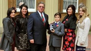 Anton Turner's family