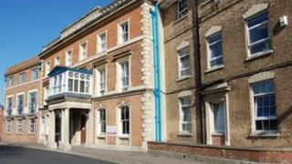 Bridgwater Community Hospital, built in 1813