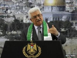 Mahmoud Abbas speaks on the anniversary of the death of Yasser Arafat (11 November 2012)