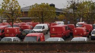 Ipswich's Royal Mail processing office