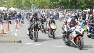 Thundersprint bikers