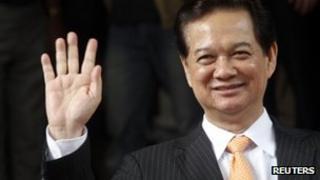 Vietnamese PM Nguyen Tan Dung