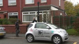 School parking CCTV