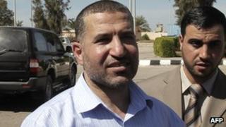 Ahmed al-Jabari in Rafah (October 2011)