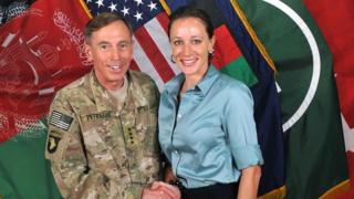 David Petraeus and Paula Broadwell