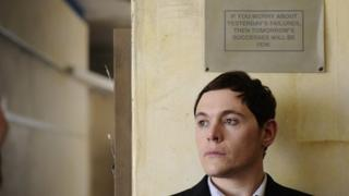Burn Gorman in Up There