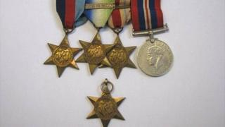 Medals found in Bolton