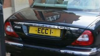 Essex County Council chauffeur driven car