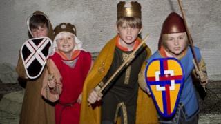 Children at Manx Museum