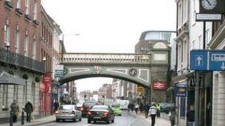 Worcester Foregate Street railway bridge