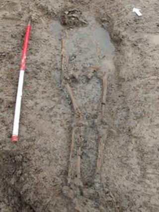 Roman human remains discovered at Banwell