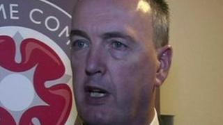 Lancashire's PCC Clive Grunshaw