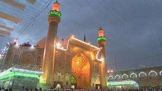 Shia shrine in Najaf