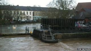 Radial gate at capacity in Chippenham
