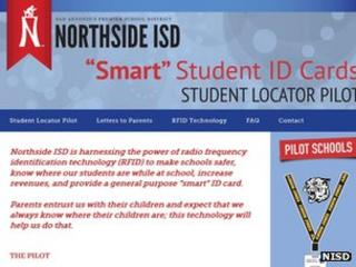Screengrab of NISD webpage