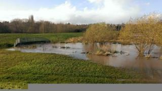 Kidderminster flood defences