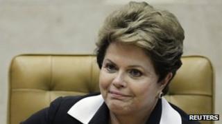 Dilma Rousseff on 22 November 2012