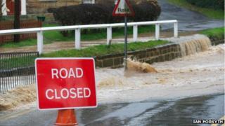 Flooding in Loftus