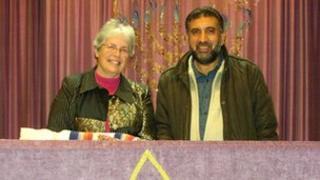 interfaith service at Harlow Synagogue