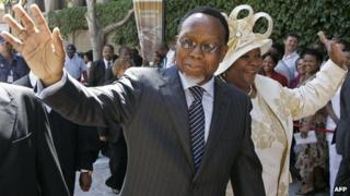 South Africa's Deputy President Kgalema Motlanthe in Cape Town (6 February 2009)