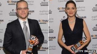 Matt Damon and Marion Cotillard
