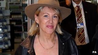Nadine Dorries returning from Australia