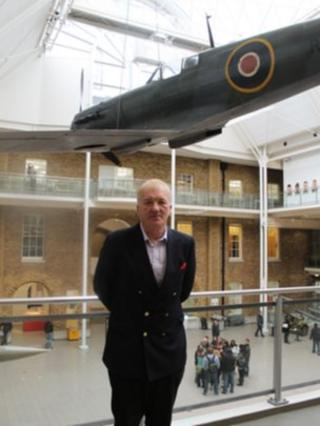 David Cundall at the Imperial War Museum