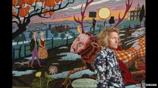 Grayson Perry, The Upper Class at Bay, 2012