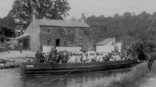 A Sunday school trip to Llangattock in 1908