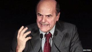 Pier Luigi Bersani. 2 Dec 2012