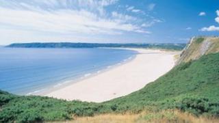 Oxwich Bay