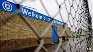 Football club Buitenboys in Almere, the Netherlands, on 3/12/12