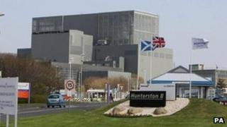Hunterston B power station