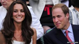Duke and Duchess of Cambridge on 27 June 2012