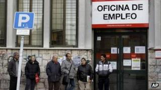 Spanish employment office