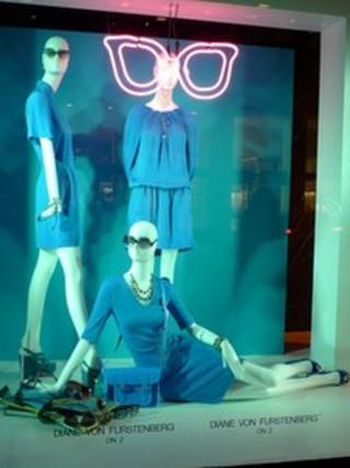Bloomingdale's shop window display