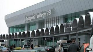 Budapest Ferihegy International Airport, file pic