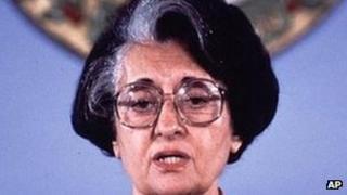 Indira Gandhi, 1982