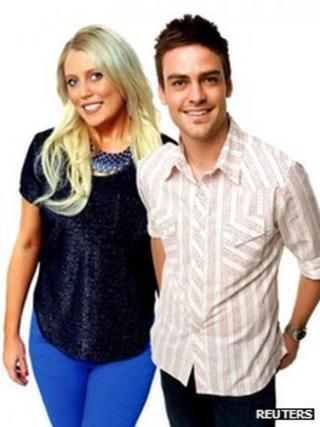 DJs Mel Greig and Michael Christian