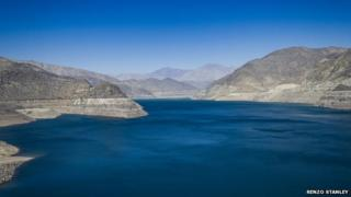 Puclaro reservoir