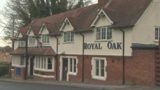 The Royal Oak pub, Shrewton in Wiltshire