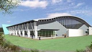 An artist impression of the new leisure centre