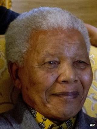 Nelson Mandela, photographed in August