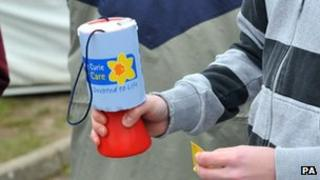 Charity collection