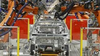German car factory