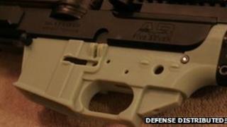 Gun part