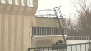 Langney roof collapse