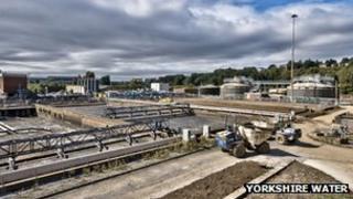 Calder Vale treatment works