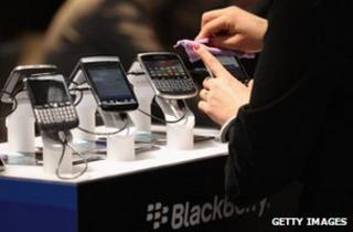 Blackberry handsets