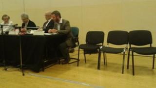 First cabinet meeting under George Ferguson, Bristol